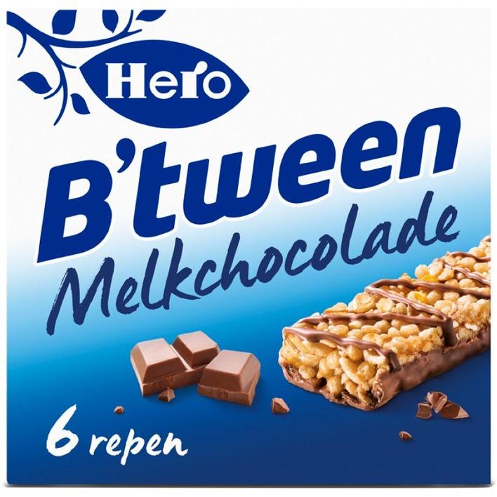 Hero Granenreep melkchocolade