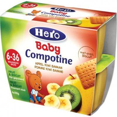 Hero Baby Compotine appel-kiwi-banaan