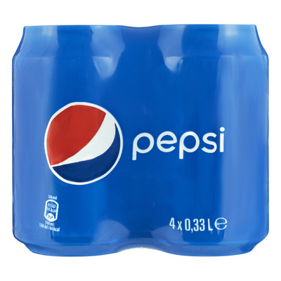 Pepsi Cola regular 4-pack