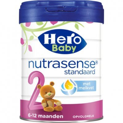 Hero Baby Nutrasense opvolgmelk 2 (6-12m)