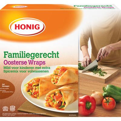 Honig Familiegerecht Oosterse wraps