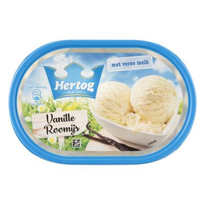 Hertog IJs romige vanille