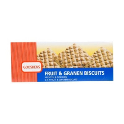 Gooskens Fruit & granen biscuits
