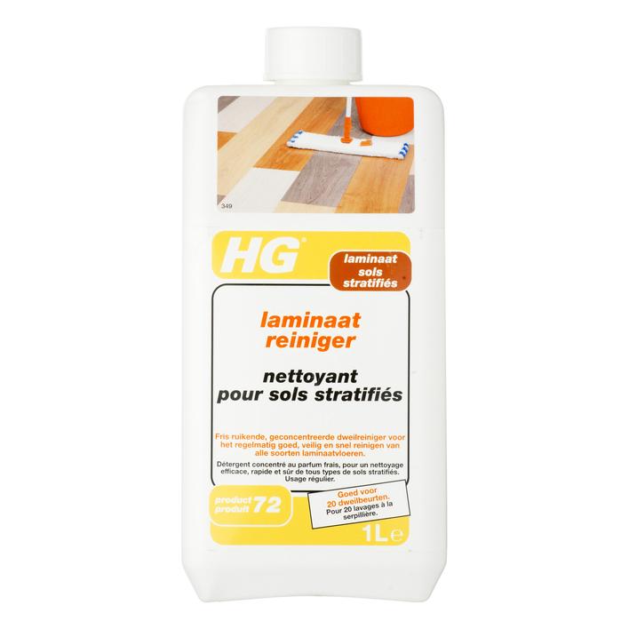 HG Laminaat reiniger zonder glans