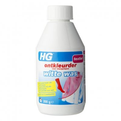 HG Ontkleur witte was