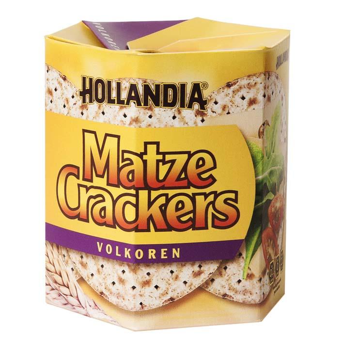 Hollandia Matzecrackers volkoren