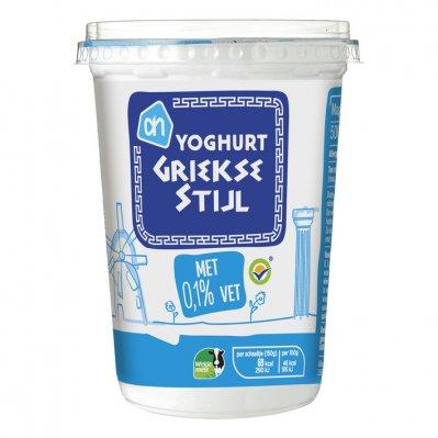 Huismerk Yoghurt Griekse stijl met 0.1% vet