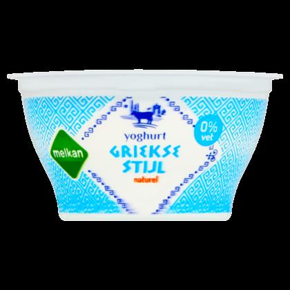 Huismerk Griekse stijl yoghurt 0% vet