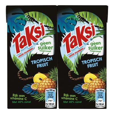 Taksi Tropisch fruit geen suiker toegevoegd