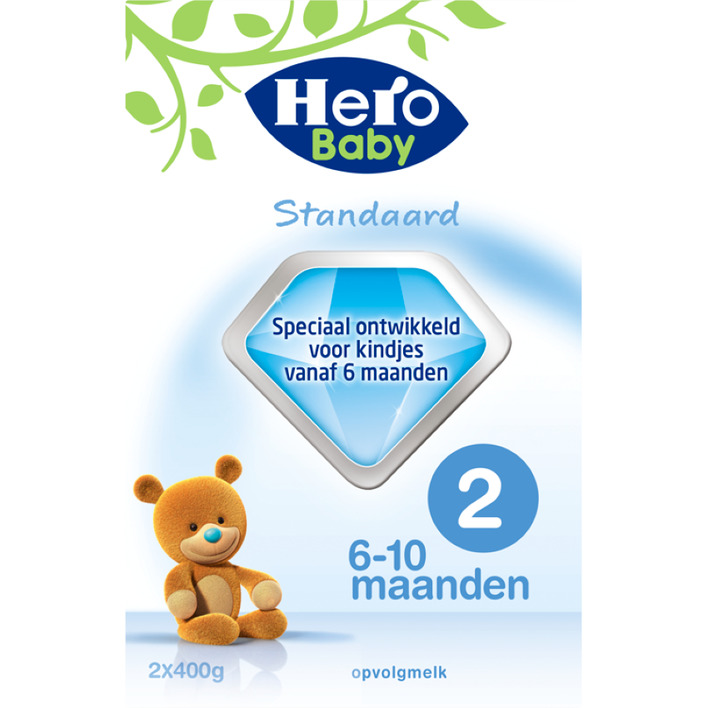 Hero Baby Standaard opvolgmelk 2 (6-10m)