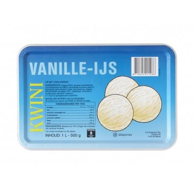 Kwini Vanille ijs