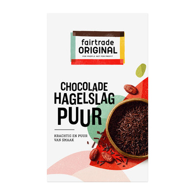 Fairtrade Original Chocolade hagelslag puur