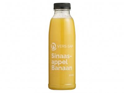 Huismerk Vers sinaasappel-banaan sap