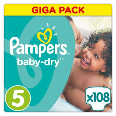 Pampers Baby-dry maat 5