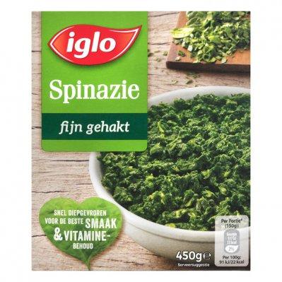 Iglo Fijn gehakte spinazie deelblokjes