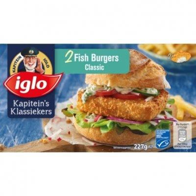 Iglo Fish burger classic