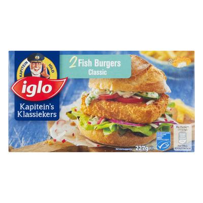 Iglo Fishburger classic