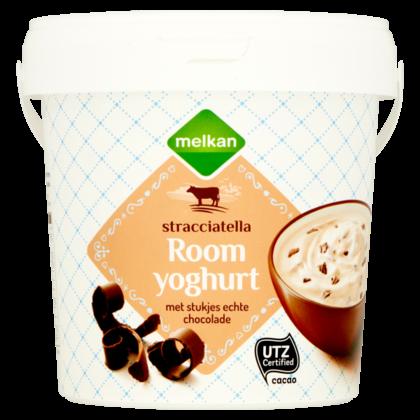 Huismerk Romige yoghurt stracciatella