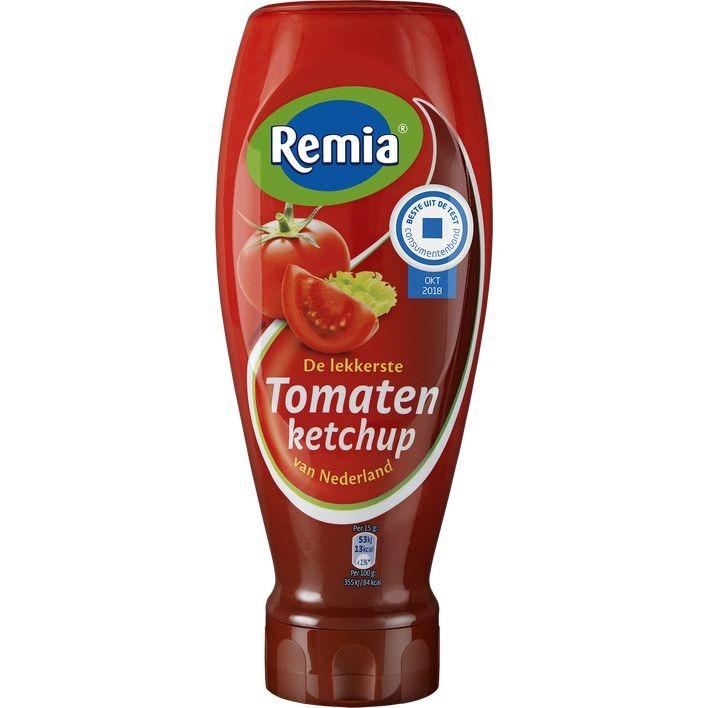 Remia Tomaten ketchup topdown