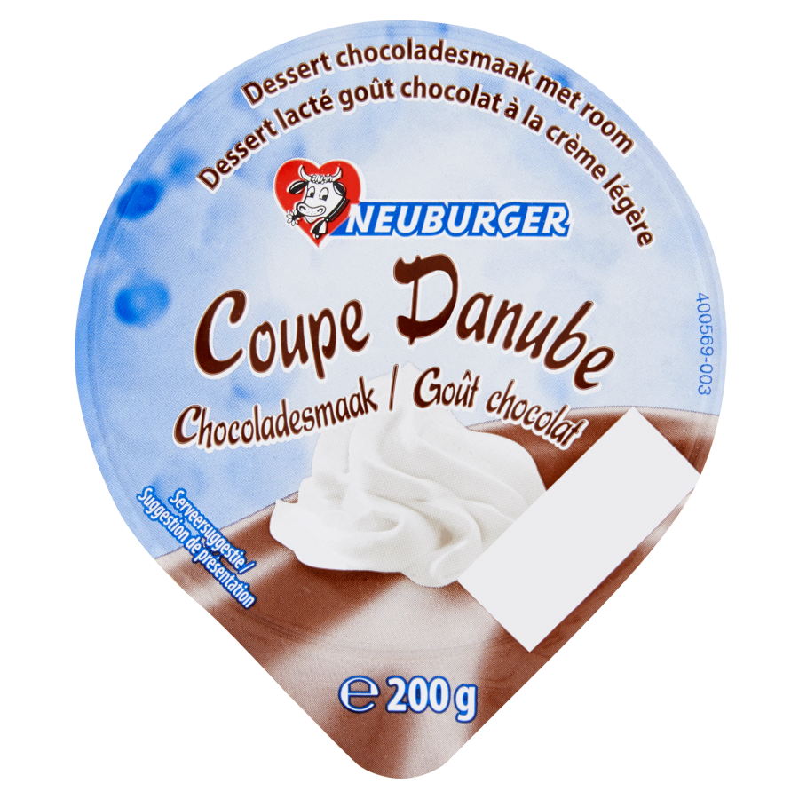 Neuburger Toetje room chocolade