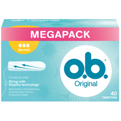 O.B. Tampons normaal megapack