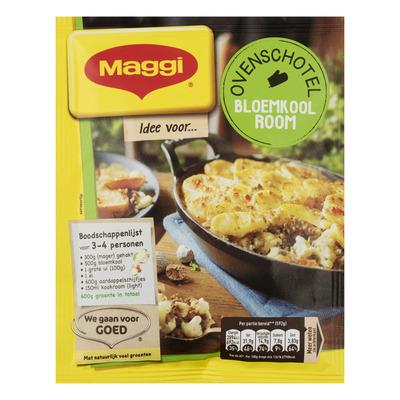 Maggi Ovenschotel bloemkool-room