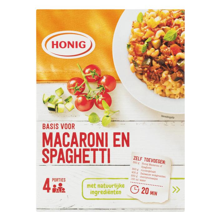 Honig Mix voor macaroni en spaghetti