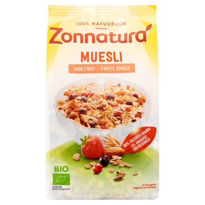 Zonnatura Muesli rood fruit