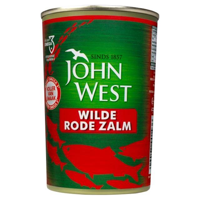 John West MSC wilde rode zalm in blik 418 gram