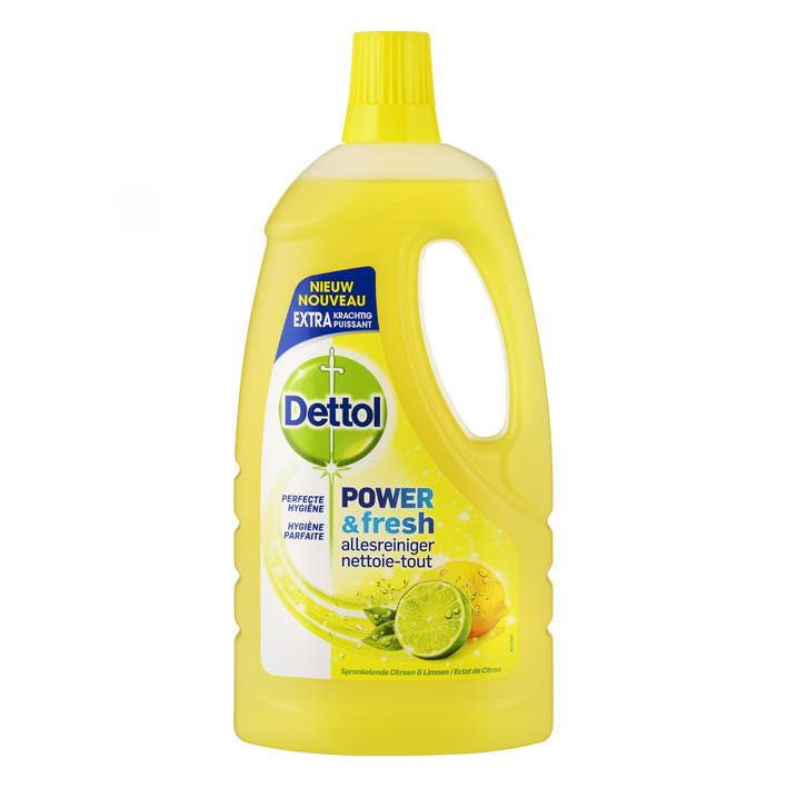 Dettol Allesreiniger citroen en limoen