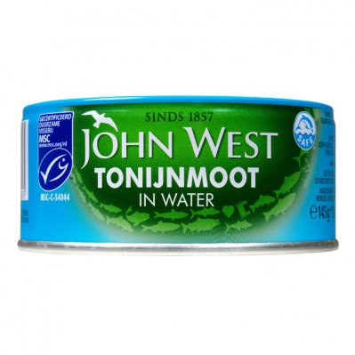 John West Tonijnmoot in water MSC