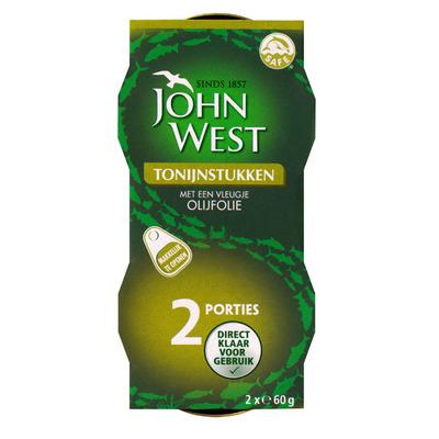 John West Tonijnstukken in olijfolie