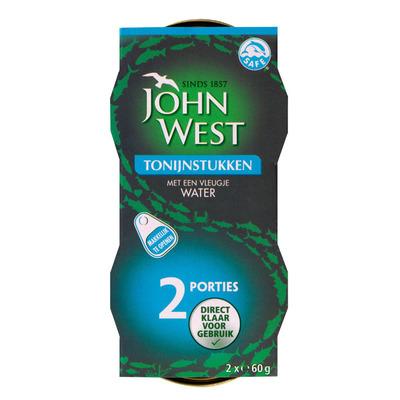 John West Tonijnstukken in water