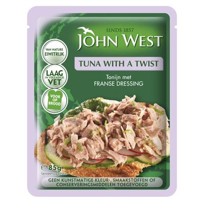 John West Tuna with a twist French dressing