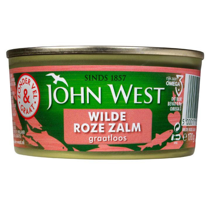 John West Wilde roze zalm zonder vel en graat MSC