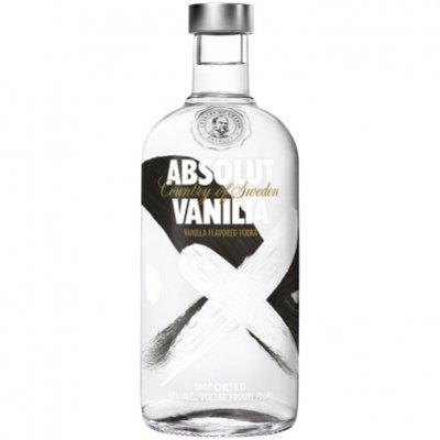 Absolut Vanilia flavored vodka