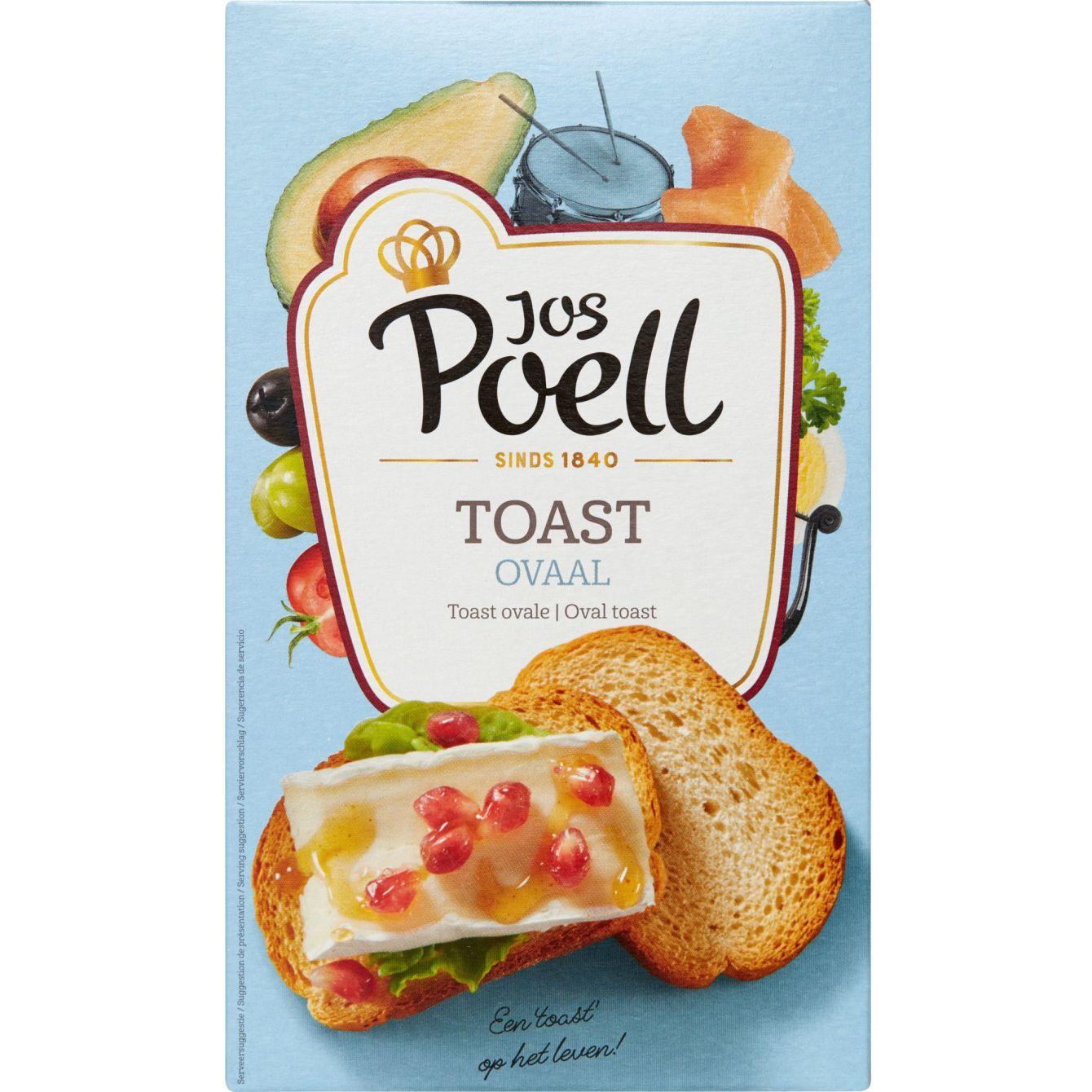 Jos Poell Traditionele Toast Ovaal