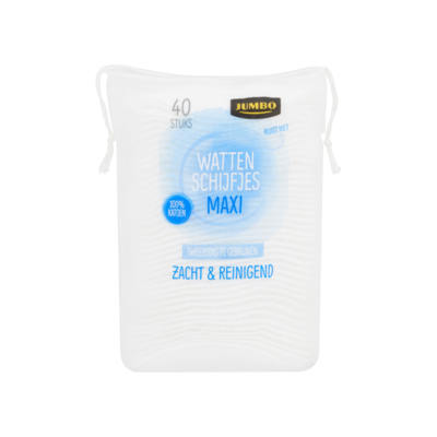Huismerk Wattenschijfjes Maxi