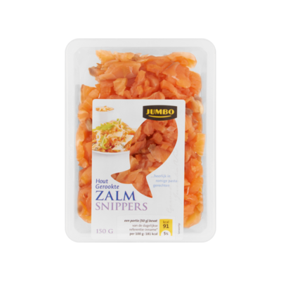 Huismerk Hout Gerookte Zalm Snippers