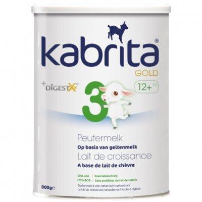 Kabrita Gold peutermelk 3