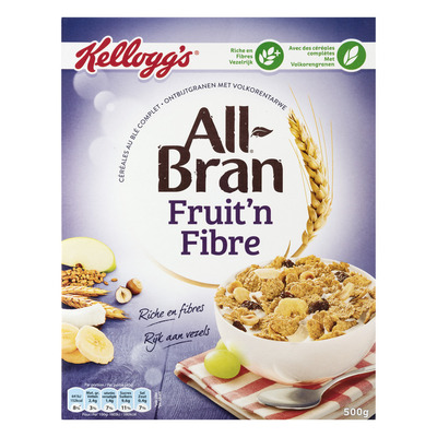Kellogg's All-bran Fruit 'n fibre