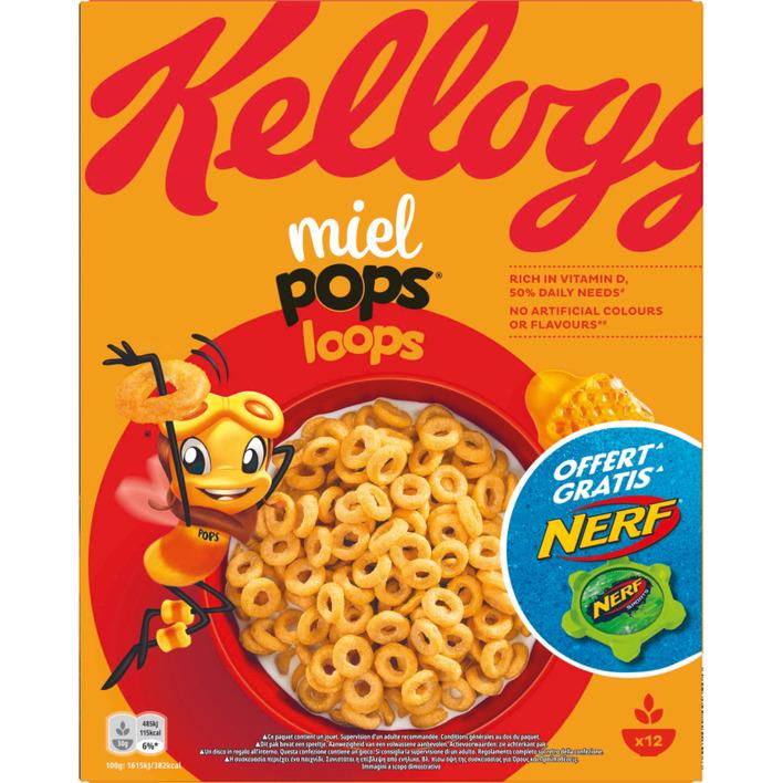 Kellogg's Honey pops loops