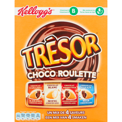 Kelloggs Tresor choco roulette