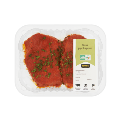 Jumbo Steak Paprika Peper
