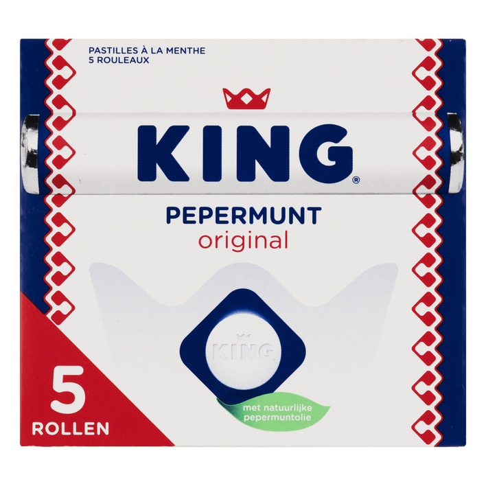 King Pepermunt original rollen