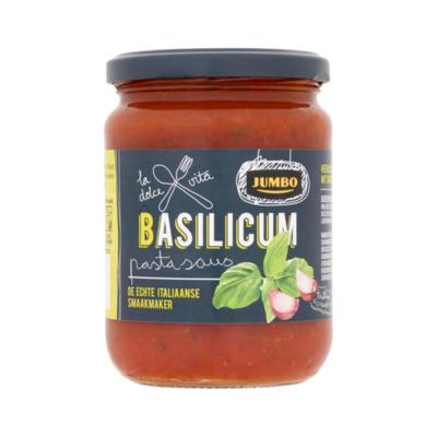 Huismerk Basilicum Pastasaus