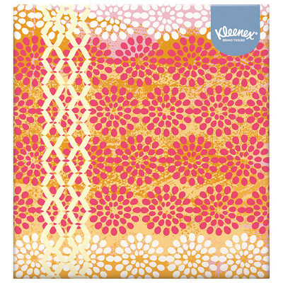Kleenex Collection tissues box
