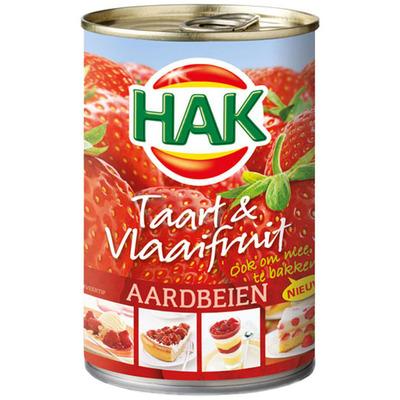 Hak Taart & Vlaaifruit aardbeien