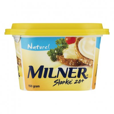 Milner Slankie smeerkaas naturel 20+