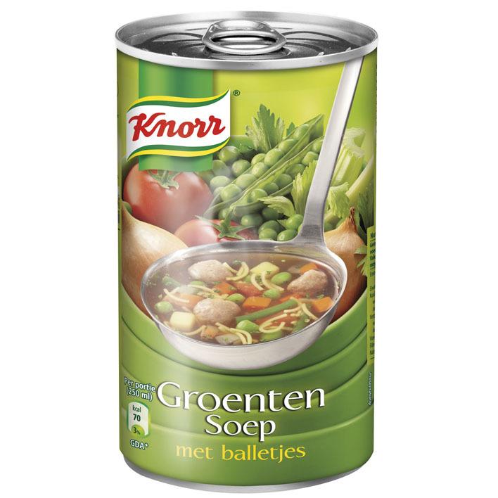 Knorr Groentensoep met balletjes